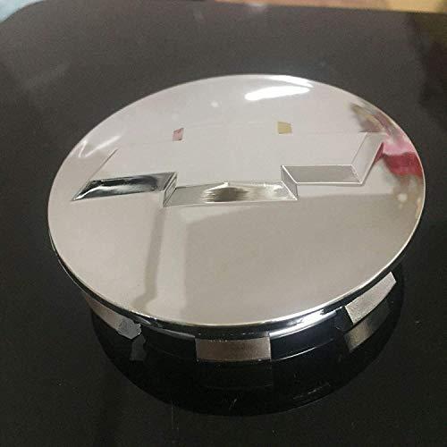 4 PCS Auto Center Radkappen für Chevrolet, 83 mm Radmitte Logo Abzeichen Aufkleber Reifenmodellierung Dekoration Zubehör