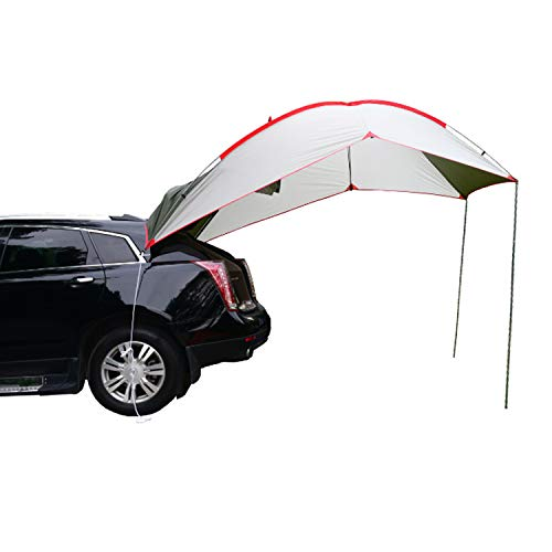 Wind Tour Portable Waterproof Car Rear Tent Outside Camping Shelter Outdoor Car Tent Trailer Tent...
