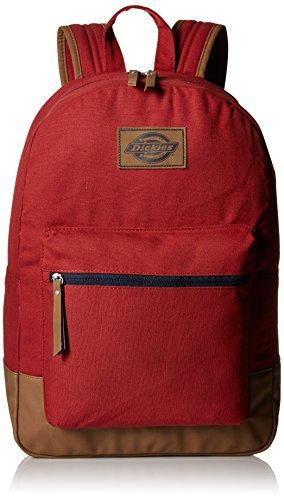 Dickies Mochila Hudson de lona de algodón, rojo escarlata (Rojo) - I-50088-600