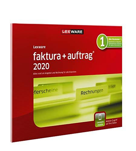 Lexware faktura+auftrag 2020|basis-Version in frustfreier Verpackung (Jahreslizenz)|Einfache Auftrags- und Rechnungs-Software für alle Branchen