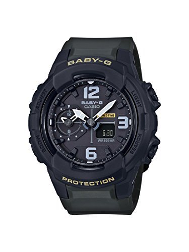Casio Baby G Black Dial Polyurethane Strap Ladies Watch BGA-230-3B