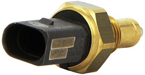 HELLA 6ZF 008 621-501 Interruptor, piloto de marcha atrás - 12V - Número de conexiones: 2 - atornillado - Medida de rosca: Mx14x1,5 - Contacto de cierre - negro