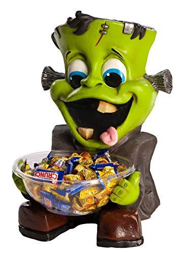 Rubie's Halloween Candy Bowl Holder, Frankenstein