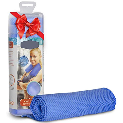 Perfect Life Ideas Gym Cooling Towels for Neck for Athletes - Cooling Neck Wrap Bandana as Cool Sweat Towel Neck Coolers Wraps for Hot Weather for Men and Women