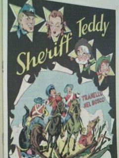 Sheriff Teddy Nr. 30 Tranello... Hethke-Reprint 1979, Comic-Heft