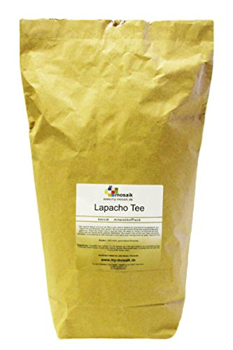 my-mosaik Lapacho Tee - 100% naturbelassen, geschnitten, ohne Zuckerzusatz, basisch, mineralstoffreich, abgefüllt in Deutschland (1000g)