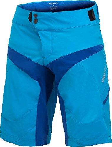 Craft Vélo Perf Baggy Radhose Shorts Medium Schwarz M Ocean Blue/Royal Blue