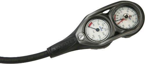 Depth Gauge Console 2-Gauge Single 5000psi 230ft Console Pressure Gauge Depth Apeks Console Pressure Gauge Multicoloured