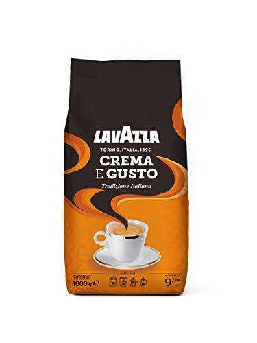 Lavazza Kaffeebohnen - Crema E Gusto Tradizionale - 1er Pack (1 x 1 kg)