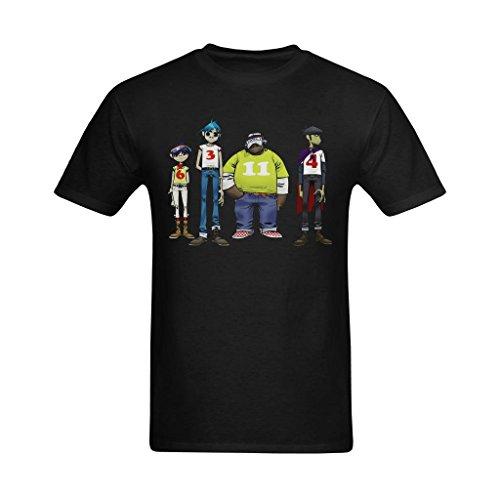 Clara Myself Hombres Personajes de Gorillaz pie diseño T-Shirt