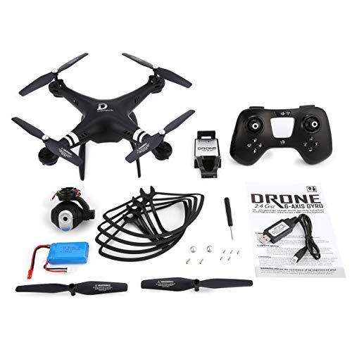 X8 RC Drone 2.4G FPV RC Quadcopter Drone con telecamera regolabile Altitude Hold Modalità senza testa 3D-Flip 18mins Long Flight