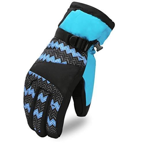 JIE KE Winter Warm Gewatteerde Motorfiets Fietsen Plus Fluweel Plus Katoen Koud En Winddicht Outdoor Ski Handschoenen, Geschikt voor Motor/Rock Klimmen/Paardrijden/Skiën