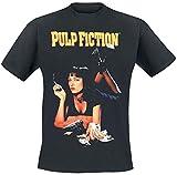 Pulp Fiction - Classique Poster - Officiel Homme T-Shirt - Noir, L
