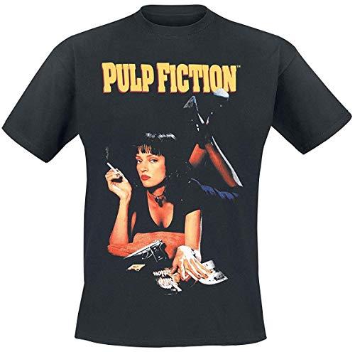 Pulp Fiction - Classic Poster - Uomo Ufficiale T-Shirt - Nero, L
