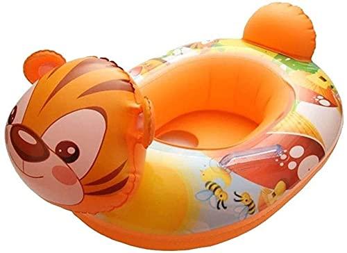QUQU Pequeño Pato Amarillo Anillo de natación Inflable Flotante Inflable Fila Piscina boya de baño Infantil Anillo Piscina Ducha Anillo Flotante Anillo adecuados (Color: B)
