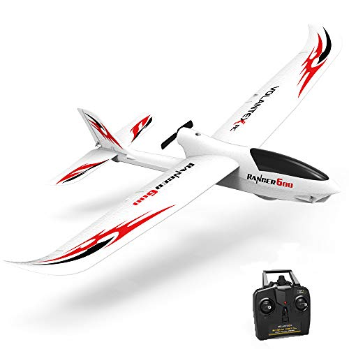 VOLANTEXRC Remote Control Glider Plane RC Airplane Ranger600 Ready to Fly, 2.4GHz Radio Control Aircraft with 6-Axis Gyro Stabilizer, One-Key Return Function for Beginners (761-2 RTF)