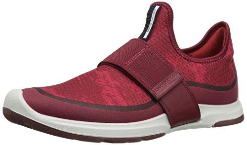 ECCO Women's Biom AMRAP Strap Fashion Sneaker, Brick/Brick-Tomato, 37 EU / 6-6.5 US