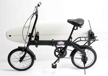 RAINBOW (レインボー) FD-1 サーフキャリア付き 折り畳み自転車 16インチ 湘南鵠沼海岸発信