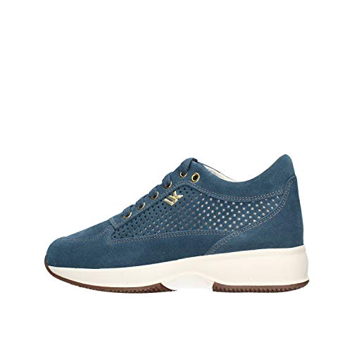 Lumberjack Raul 2, Sneaker Donna, Blu (Blue Cc003), 37 EU