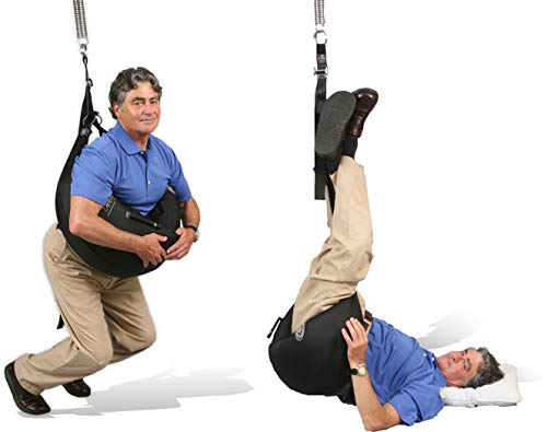 Back Bubble Physician Model Portable for Home Spinal Decompression, Back Stretching & Traction Device, Lower Back Pain & Sciatic Relief, FDA Registered