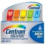 Centrum Silver Men 50+, Multivitamin Tablets - 100 ea