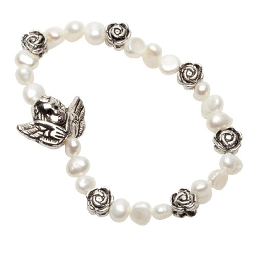 Pearls for Girls Bracelet Perles et Anges pour Enfants