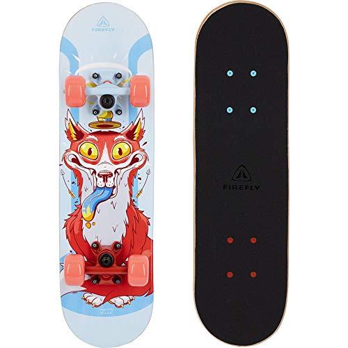 FIREFLY Unisex– Erwachsene SKB 100 Skateboard, BLUELIGHT/BLUELIGHT, One Size