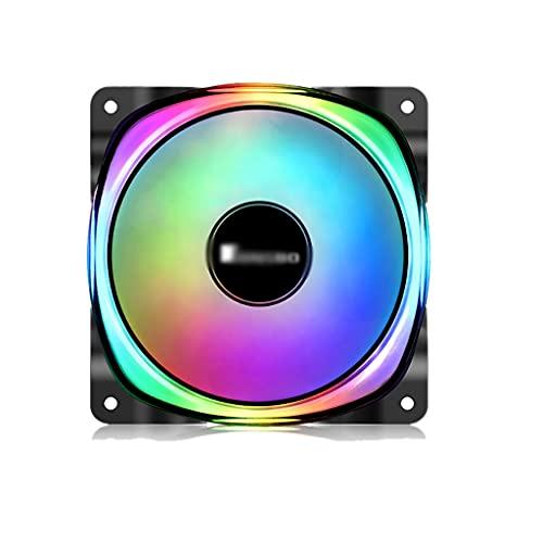 LLRZ Centilador CPU Funda de PC Refrigeramiento de Ventilador 120 mm 5V ARGB Placa Base LED Radiadores de Ventilador Ultra silencioso PWM Presión estática para 5V 3-Pin ARGB Sistema Refrigeración