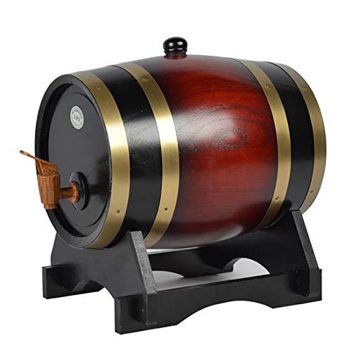 FXPCQC Individuelles Eichenfass, for Whisky Oder Wein, Fass Mit Zapfhahn, Stopfen Und Holzbock, Anzug for Zuhause, Bar, Party Und Bankett, for Whisky Oder Wein