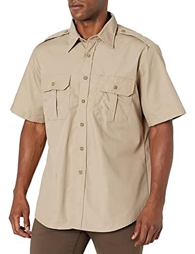 Propper Men's Short Sleeve Tactical Shirt, Khaki, Large