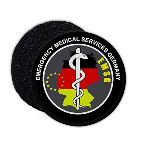 Copytec EMSG Rettungsdienst Deutschland Deutsch Sanitäter Notarzt Bundesrepublik #32724