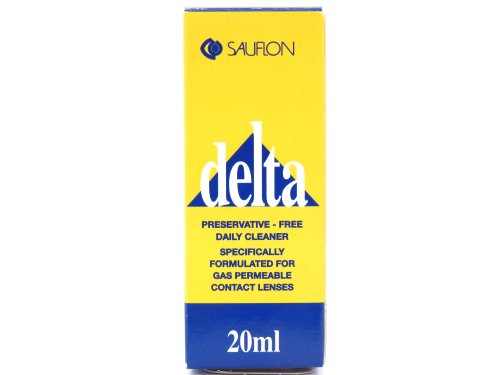 CooperVision Delta Preservative Free Daily Cleaner For Gas Permeable Lenses 20ml