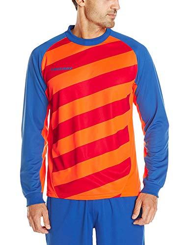 VIZARI Camiseta de Portero Padova - 60023-YM, Anaranjado/Azul Rey