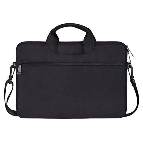 ZTH ST01S Waterproof Oxford Cloth Hidden Portable Strap One-shoulder Handbag for 14.1 inch Laptops(Black) (Color : Black)