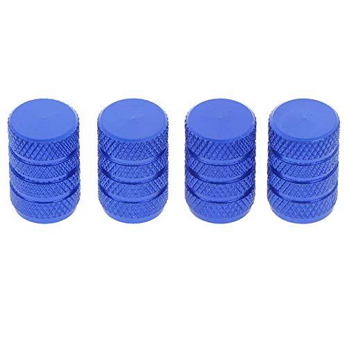 WBNCUAP Tapas De VáLvulas De NeumáTicos 4 Piezas/Set Material de Acero Inoxidable Material de Acero Inoxidable Neumático Válvula de neumático Tallos Tallos de Polvo de Aire Tapas de Tornillo