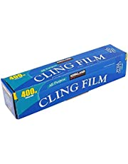 Kirkland Signature Cling Film - Papel celofán, 345 mm x 400 m, transparente