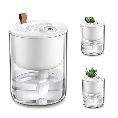 USB Desk Humidifier with Cool Mist for Home and Office