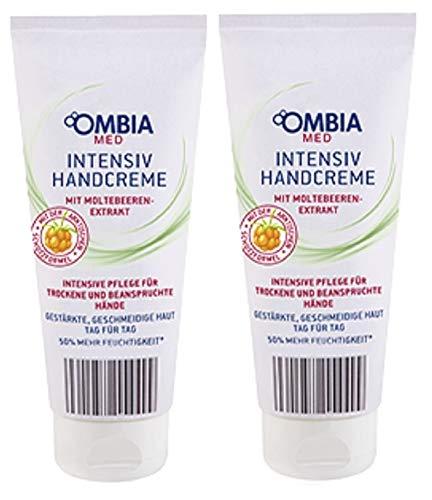 Ombia Med Intensiv Handcreme mit Moltebeeren-Extrakt 2er-Pack(2x100ml)