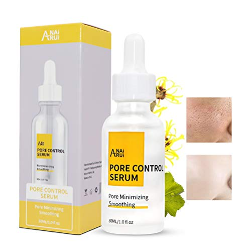 Pore Control Serum, Pore Corset Serum for Face, Sebum Control, Clogged & Enlarged Pores Tightening, Shrinking, Pore Minimizer & Minimizing Facial Serum, 1 oz