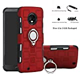 Labanema Moto G6 2018 Coque, 360 Degrés Rotation Ring Holder Stand Protection Case Cover pour...