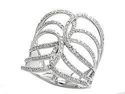 14K WHITE GOLD DIAMOND RING WZ0R425DD3
