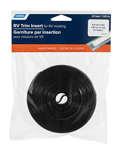 Camco 25103 Vinyl Trim Insert 1 X 25 White Buy Online In Brunei Camco Products In Brunei See Prices Reviews And Free Delivery Over Bnd100 Desertcart