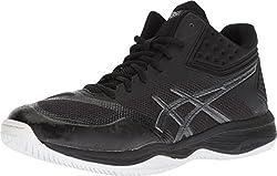 commercial Netburner Ballistic FFMT Men's Volleyball Shoes 9.5M Black / Black ASICS asics basketball shoes