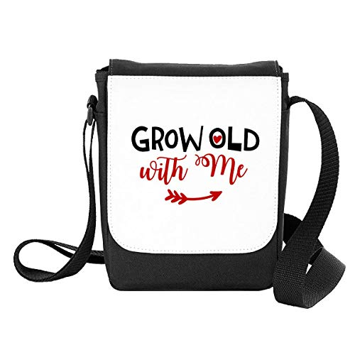 Grow Old with Me Arrow Statement [BCV] Shoulder Bag - Small