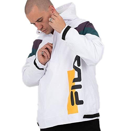 Fila TRU Faux Lambswol Lined jas heren wit