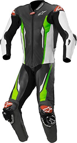 Alpinestars Racing Absolute Tech-Air - Mono de piel perforado para moto One...