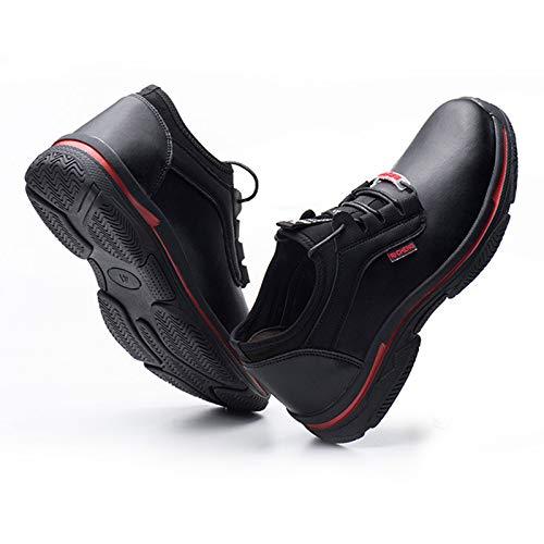 JIAAN Zapatos de Trabajo 6KV Aislamiento eléctrico Seguridad en el Trabajo Zapatos Anti-Aplastar a Prueba de pinchazos Multifuncional de Protección Calzado Zapatos de Seguridad Hombre Trabajo Cómodas