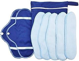 KYK 5PC/Set washable sanitary napkin pad set fleece sanitary napkins breathable sanitary pad recycling health care