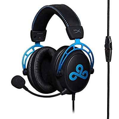HyperX HX-HSCAC9-BL Cloud Alpha Cloud9 Edition - Gaming Headset with In-line volume control