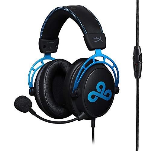 HyperX HX-HSCAC9-BL Cloud Alpha Cloud9 Edition - Casque Gaming avec control audio intégré